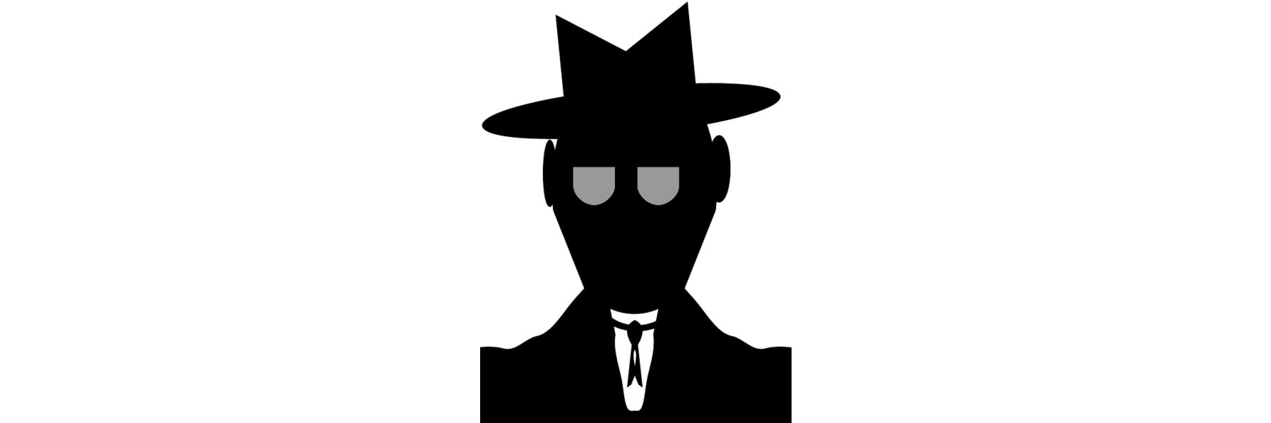 spy silhouette